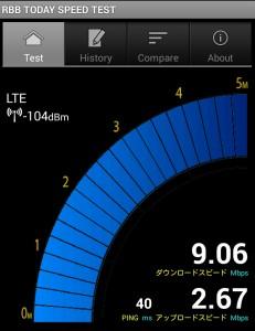 DMMモバイル 速度 15時